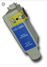 2x Generic Kodak 10 Black Ink Cartridges For ESP 3250 5250 Printers