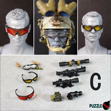 HOT FIGURE TOYS 1/6 Puzzle Bomb NEW Modern military goggles and sights C style