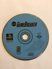 NCAA GameBreaker - PS1 Sony PlayStation 1 PS One game Disc Only Football Breaker
