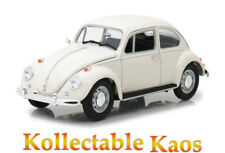 Greenlight 1967 VOLKSWAGEN Beetle Right Hand Drive White 1 18 Diecast Model Car