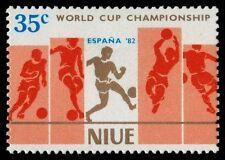 NIUE 344a (SG437) - Espana '82 World Cup Football Championships (pa31878)