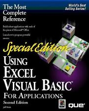 Using Excel Visual Basic for Applications, Special Edition (Using ... (Que))