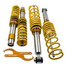 Suspensions Adj Coilovers Kit For 97-03 BMW E39 5-Series Sedan 1995-2003 Yellow