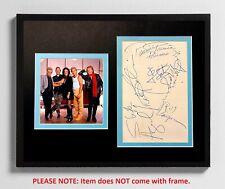 Jefferson Starship 11x14 Matted Autograph & Photo! Prairie Prince! Slick Aguilar