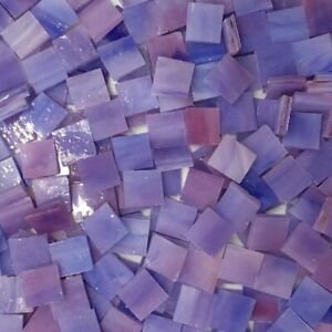 Square Stained Glass Supplies Mosaic Art Particles Crafts Pieces Tiffany Glass