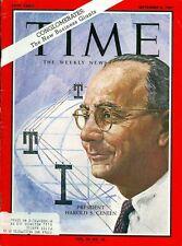 1967 Time Magazine: Harold S. Geneen ITT Corporation President
