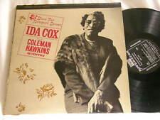 IDA COX Blues Rampart Street Coleman Hawkins Roy Eldridge Riverside STEREO LP