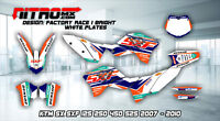 NitroMX Graphic Kit for KTM SX SXF 125 250 350 450 525 2007 2008 2009 2010 Decal