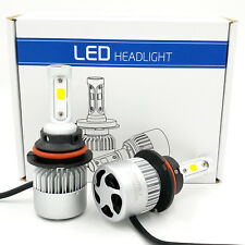 9004 HB1 1500W 225000LM CREE COB LED Headlight Conversion Kit HI/LOW Beam 6000K