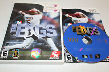The Bigs (Nintendo Wii, 2007) Complete, Rated E, 2K Sports, Baseball
