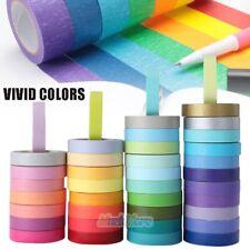 40 Rolls Washi Tape Set Masking Tape Scrapbook Decorative Paper Adhesive Sticker