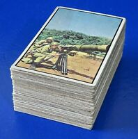 LOT OF 65 ~ 1954 BOWMAN POWER FOR PEACE TRADING CARD Many Dupes G/VG Creases