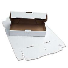 Warenpostkarton Postversand Karton Maxibriefkarton 350x250x30 mm - Weiß