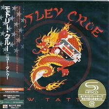 Motley Crue - New Tattoo Japan Mini LP SHM-CD Limited +2