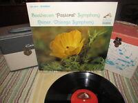 BEETHOVEN Pastoral Symphony REINER CHICAGO Vinyl LP LSC-2614 SD 1963 Beauty!