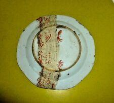 RARE ASSIETTE COMPAGNIE DES INDES RESTAURATION ANCIENNE INSCRIPTIONS CHINOISE