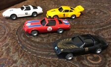 Vintage 1970's Bachmann four slot cars - NOS - Camaro,Porsche,Vette,Firebird