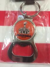 Super Bowl XLIX 49 New England Patriots Seattle Seahawks Bottle Opener Key Ring