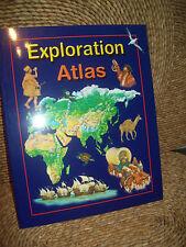 EXPLORATION ATLAS BOOK BY SARAH HARRISON