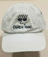 New Shady Finn Logo Baseball Hat Cap Khaki Strapback L28