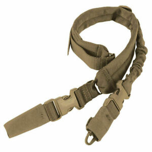 Condor Tactical Sling Swiftlink Gepolstertes Bungee Military Coyote Brown