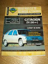 REVUE TECHNIQUE L'EXPERT AUTOMOBILE ZX essence Diesel depuis 1993
