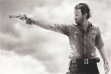 "The Walking Dead Rick Grimes Sheriff ART 20x30"" NO FRAME Canvas Print"