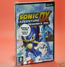 SONIC DX ADVENTURE DIRECTOR'S CUT PC sega