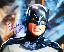 Adam West + + AUTOGRAFO + + Batman + + fai i Robinsons
