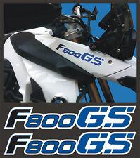 Adesivi serbatoio BMW F 800 GS 2010 azzurri - adesivi/adhesives/stickers/decal