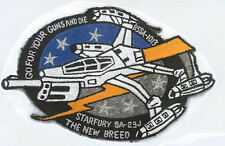 Babylon 5: Star Fury - The New Breed Embroidered Iron-on Patch