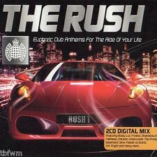 Ministry Of Sound - The Rush - 2CD MIX - HOUSE ELECTRO TRANCE