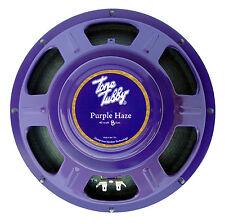 "Tone Tubby 12"" Purple Haze Alnico Hemp Cone Guitar Speaker 8/16 ohm NEW RELEASE"