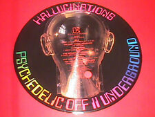 "Psychedelic Underground    German Record Club 1969    12""   picture disc   RARE"