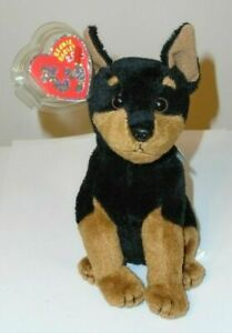 Ty Beanie Baby 2.0 ~ TROOPER the Dog - MINT with MINT TAGS - UNUSED CODE