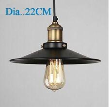 Vintage Metal Shade Ceiling Light Pendant Lighting Lamp Ø22/26/30/36CM