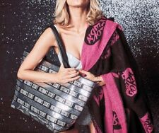 New Victoria's Secret PINK Black Friday 2018 Blanket & Sequin Tote Bag +Wristlet