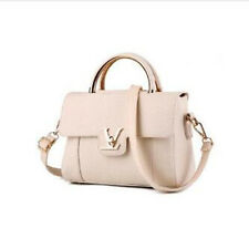 Europe New Women Faux Leather Shoulder Bags Elegant Lady Crossbody Bags White