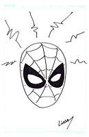 Spider-Man Original Art Sketch 11 x 17 John Livesay