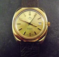 Working Vintage Watch Rotary Automatic 21 J Wristwatch Royal Jordanian Present