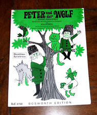BOOK: Peter Und Der Wolf by Sergej Prokofieff / GERMAN And The Songbook Children