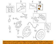FORD OEM 10-14 Mustang Brake-Rear-Mount Kit Clip 5U2Z2321H