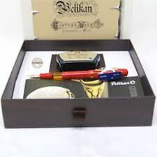 Pelikan Pen M101N Gift Set Bright Red Special Edition 14K Medium Nib