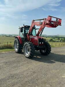 very nice 2004 Massey Ferguson 5455 4WD Loader Tractor