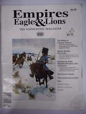 Gli imperi Eagles & LEONI NUMERO 1 0 fonte NAPOLEONICO RIVISTA MILITARE/Giochi Di Guerra
