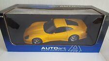 Autoart 1/18 Callaway Corvette C12 en jaune.