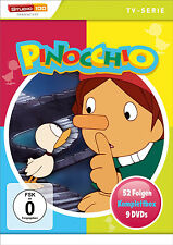 Gesamtbox PINOCCHIO 52 Episodios CAJA COMPLETA Serie de TV 9 DVD EDITION Nuevo
