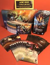 Cryptozoic DC Legends of Tomorrow SET, 3x Insert Sets (99 Cards)  Box & Wrappers