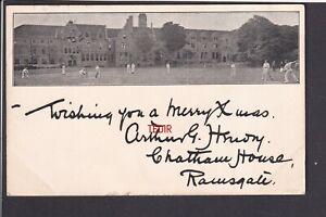 Kent - Ramsgate Cricket scene 1900 - Plain on reverse