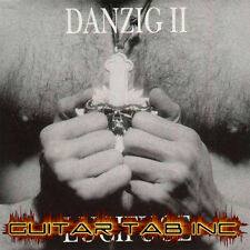 Danzig II Guitar & Bass Tab LUCIFUGE Lessons on Disc Drum Notation